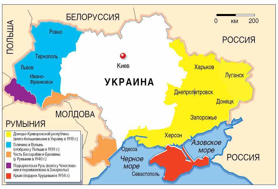 Подарки русских царей на карте 988