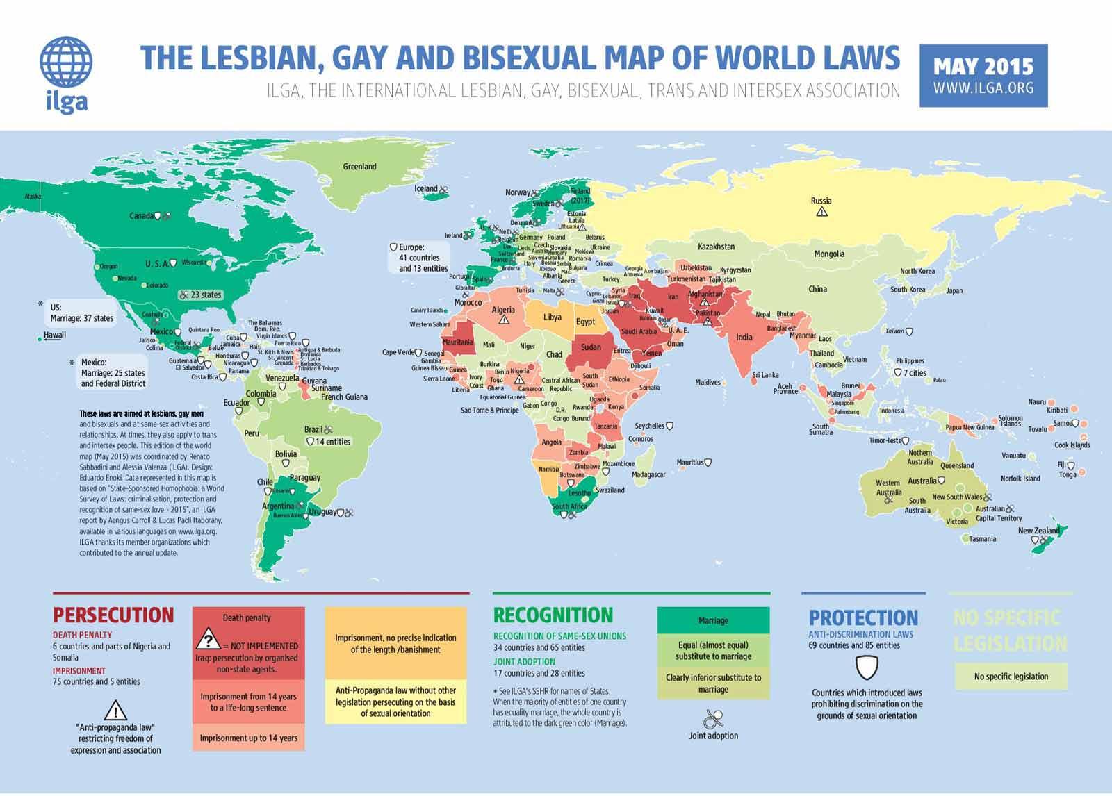 Страны в которых наиболее распространен гомосексуализм